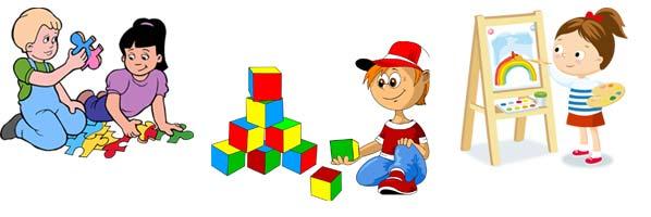 Развитие детей 4 5 лет, пазлы, кубики, рисовать