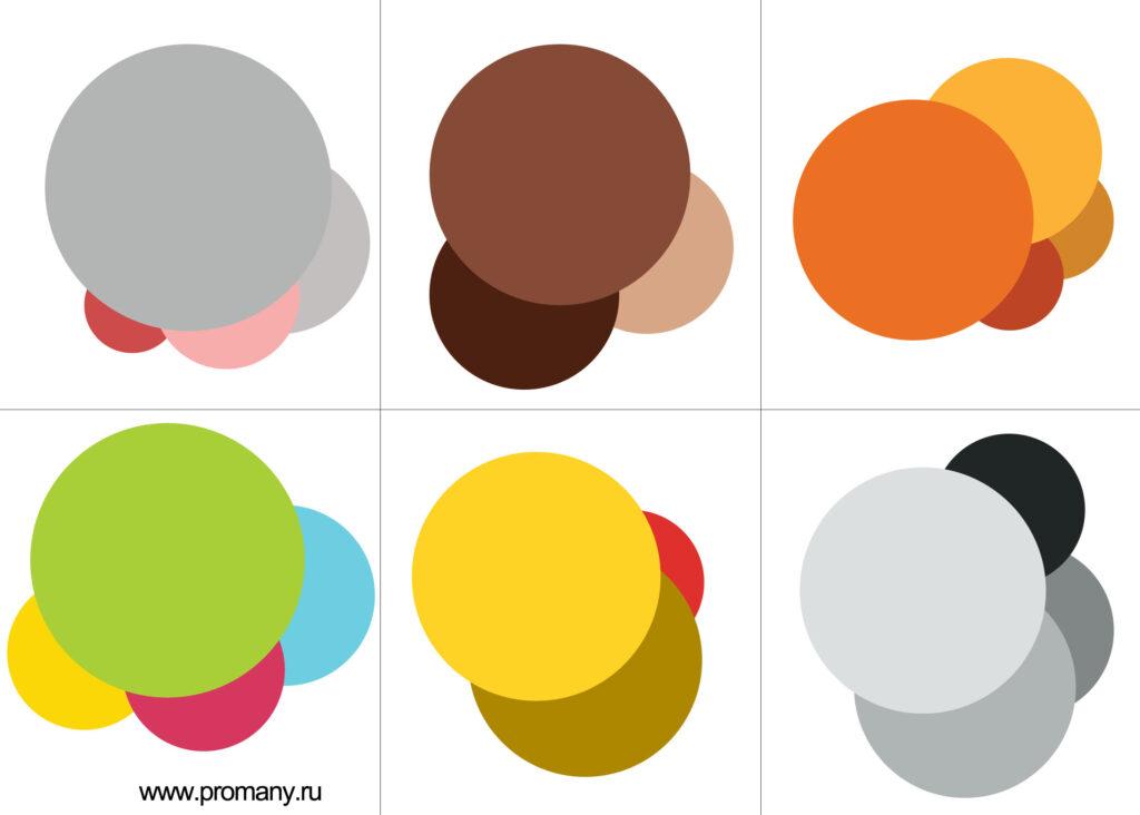 изучаем цвета и формы вместе с лото