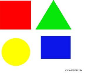 изучаем цвета и формы играя в подбери заплатку