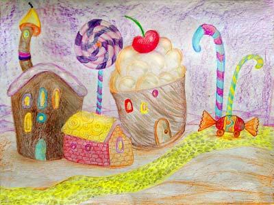 Сказка про страну сладких булок