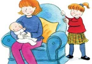рождение второго ребенка для старшего