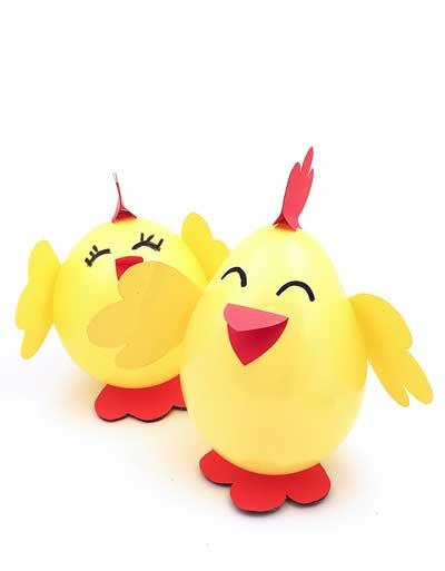 цыпленок из шарика
