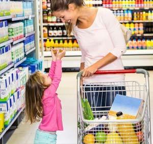 как научить ребенка считать в магазине